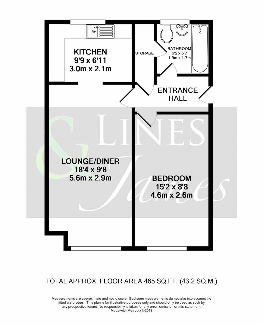 Floorplan for Abbotsbury Court, Horsham